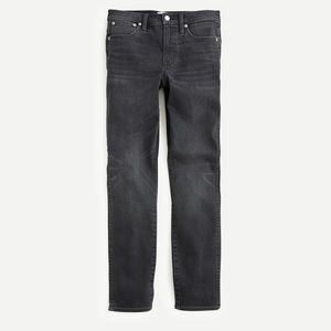 NWT J. Crew Vintage straight jean in charcoal wash